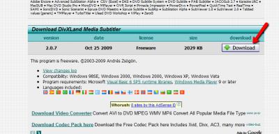 DivXLand-Media-Subtitler-install